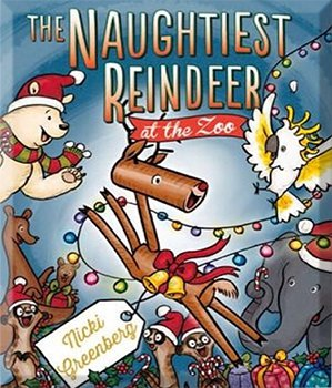 naughtiest reindeer in zoo