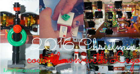 2016 Lego Christmas Advent Calendars