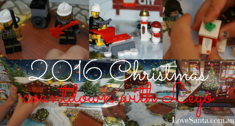 collection of images from the Lego 2016 advent calendars