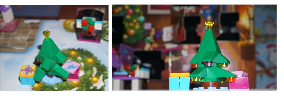 Lego Friends Christmas tree