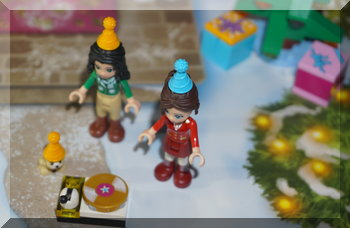 Lego Friends turntable & party hats