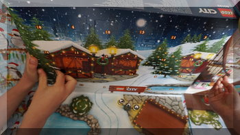 opening day one flaps in 2016 Lego advent calendars