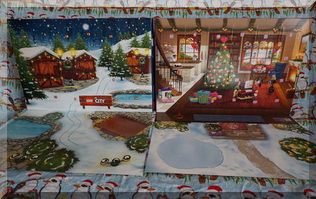 Two Lego advent calendars ready to open...