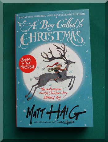 book cover for the boy called Christmas