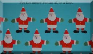 Santa page within the Christmas Treasure Hunt